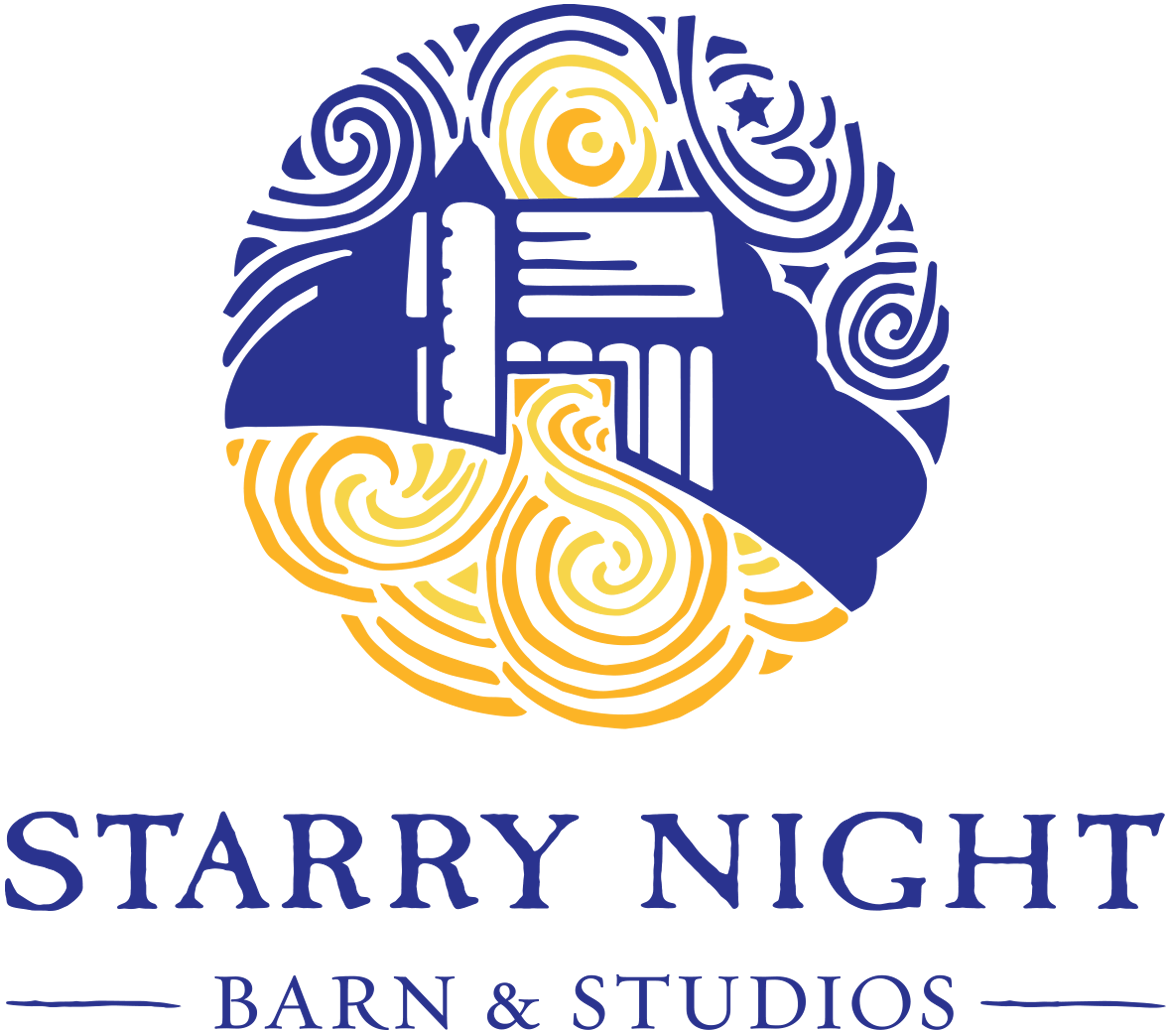 Starry Night Barn
