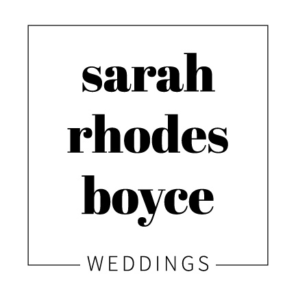 Sarah Rhodes Boyce Weddings
